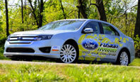 Ford Fusion Hybrid Challenge Vehicle