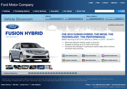 Ford Fusion Hybrid Website