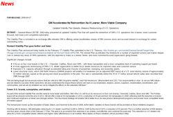 GM's Viability Plan