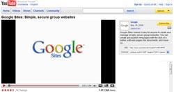 Google Sites YouTube Video