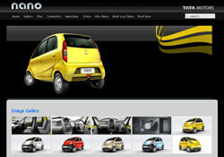 Tata Motors - Nano Website