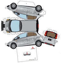 paper cars by mizorogi akira