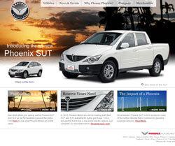 Phoenix Motorcars Website