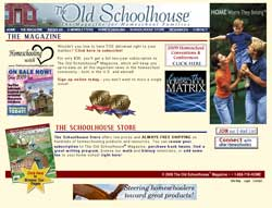The Old Schoolhouse Magazine - TheHomeschoolMagazine.com