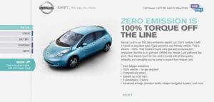 Nissan Leaf - 100% Electric