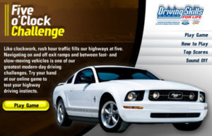 Online Game - Ford's Five O'Clock Challenge