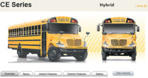 Navistar Hybrid School Bus
