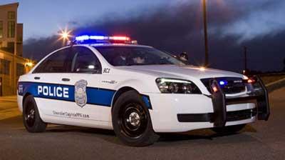 Police - 2011 Chevrolet Caprice Police Patrol Vehicle (PPV)