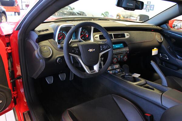 2012 Camaro ZL1 Interior