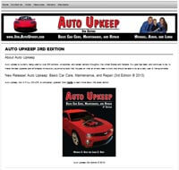 Auto Upkeep 3rd Edition Dedicated Website