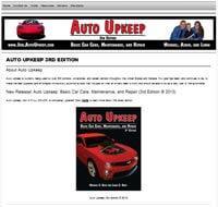 Auto Upkeep 3rd Edition Dedicated Website
